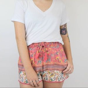 Angie Scarf Shorts